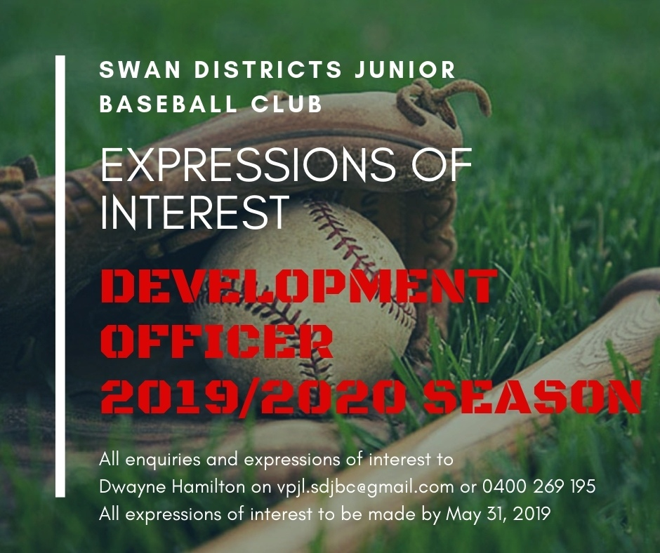 Swans Districts Juniors - Expression of Interest for Development Officer 2019/2020 Season